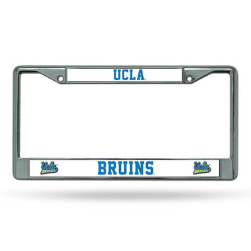 UCLA Bruins NCAA Chrome License Plate Frame