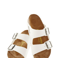 Tucson Tour Sandal in White | Mod Retro Vintage Sandals | ModCloth.com