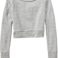 Athleta Womens Studio Crop Sweatshirt