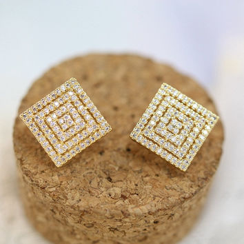 Hair Accessories Earring Stylish Sponge [6049823681]