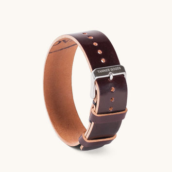 Single Pass Watch Strap