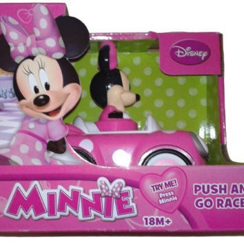 Disney's Minnie Mouse Push and Go Racer Car