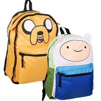 Adventure Time Jake And Finn Reversable Backpack : TruffleShuffle.com