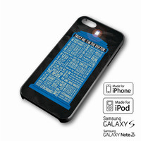 Doctor Who Quotes,trust me im doctor iPhone case 4/4s, 5S, 5C, 6, 6 +, Samsung Galaxy case S3, S4, S5, Galaxy Note Case 2,3,4, iPod Touch case 4th, 5th, HTC One Case M7/M8