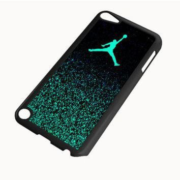 DCCKHD9 Nike Air Jordan Jump Mint Glitter iPod Touch 5 | 4 Case