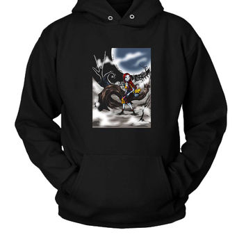 Sally The Rag Doll Hoodie Two Sided