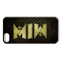 ByHeart motionless in white MIW Hard Back Case Shell Cover Skin for Apple iPhone 5 - 1 Pack - Retail Packaging - 5--3045