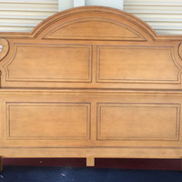 Vintage French Provincial Bed by Drexel King Size