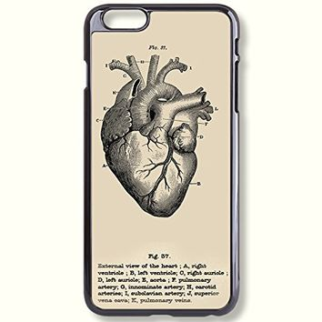 Pink Peri™ Anatomy Heart Images Vintage Graphics Protective Hard Phone Case For Samsung Note 3 cases