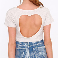 Love Me Back Crop Top
