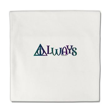"Always Magic Symbol Micro Fleece 14""x14"" Pillow Sham by TooLoud"