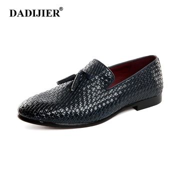 2017 Men Shoes luxury Brand Braid Leather Casual Driving Oxfords Shoes Men Loafers Moccasins Italian Shoes for Men Flats ST200