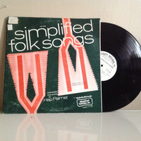 Vintage Simplified Folk Songs. 1969.