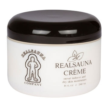 Realsauna Sauna Creme (1 jar of 8oz)