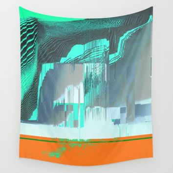 RAIN on the FOREST Wall Tapestry by Ducky B