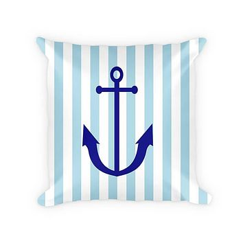 Anchor Children's Cotton/Poly Throw Pillow