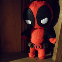 Deadpool Felt Plush