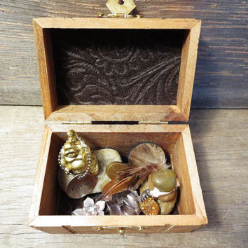 Meditation Box / Buddha Box / Meditation Kit / Zen Meditation / Boho Box / Bohemian Decor / Meditation Tool / Boho Gift