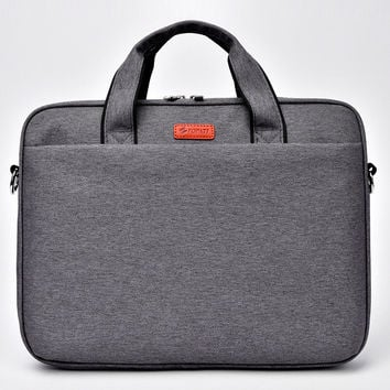 Airbag waterproof shoulder notebook bag 15.6 15 14 13.3 inch Brand casual fashion business men women Hand Messenger laptop bag
