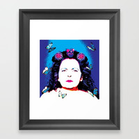 My Mother Framed Art Print by Azima