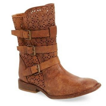 ONETOW Matisse National Cognac Biker Boot