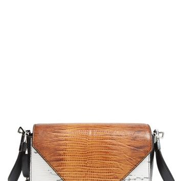 Alexander Wang 'Small Prisma' Lizard Embossed Shoulder Bag
