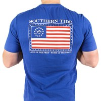 Mystery Independence T-Shirt in Blue Cove by Southern Tide