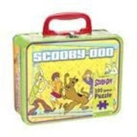 Scooby-Doo 100 Piece Puzzle in Lunchbox Tin - Gang Dancing