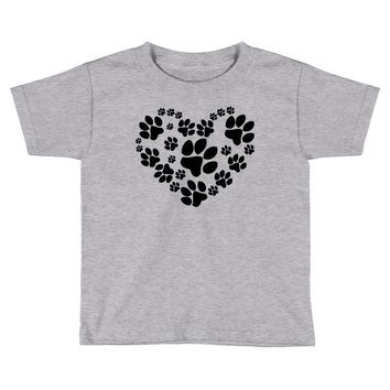 cat love paw Toddler T-shirt