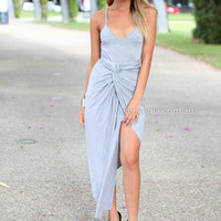 AMPHORIA MAXI DRESS , DRESSES, TOPS, BOTTOMS, JACKETS & JUMPERS, ACCESSORIES, 50% OFF SALE, PRE ORDER, NEW ARRIVALS, PLAYSUIT, COLOUR, GIFT VOUCHER,,MAXIS,Grey,SLEEVELESS Australia, Queensland, Brisbane