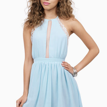 Wander Lace Skater Dress $38