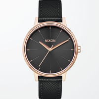 Nixon Kensington Leather Watch at PacSun.com