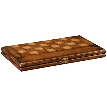 Folding Walnut Games Board