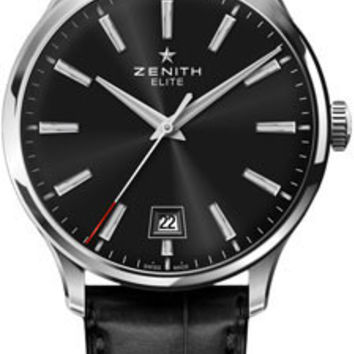 Zenith - Elite Captain Central Second Stainless Steel #03.2020.670/21.C493