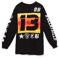 Been Trill Allstar Long Sleeve T-Shirt - Mens Tee - Black
