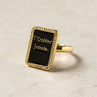 Anthropologie - Reminder Ring
