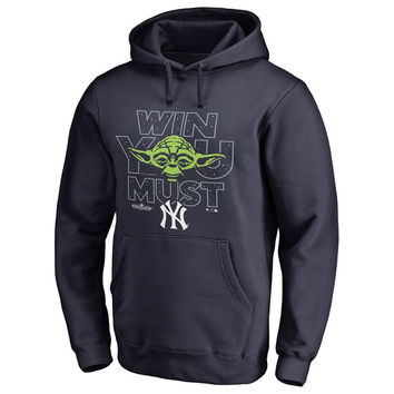 New York Yankees Fanatics Branded 2017 Postseason Star Wars Win You Must Pullover Hoodie - Navy