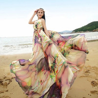 Floral Chic Maternity Clothes, Maternity Dress, Long Summer Maxi dress, Lightweight Sundress for Holiday, senior photo shoot