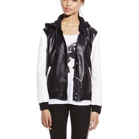 Vince Camuto Vegan Leather Bomber