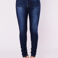 Sedona High Rise Skinny Jean - Medium Blue