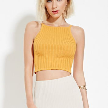 a5ba55bd239 Ribbed Crop Top