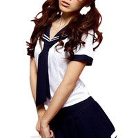 Atomic Bookish School Girl Costume