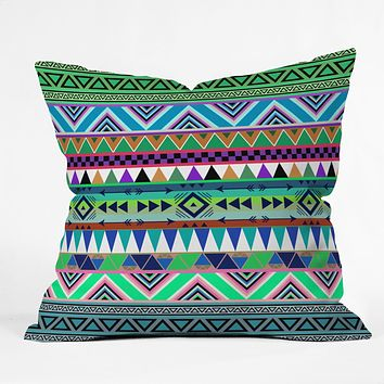 Bianca Green Esodrevo Throw Pillow