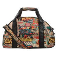 Marvel Comic Collage Gym Bag
