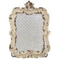 White Framed Iron Holder | Shop Hobby Lobby