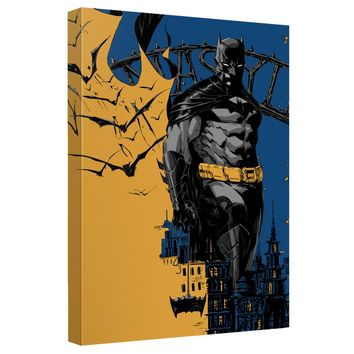 Batman - Eternal Canvas Wall Art With Back Board