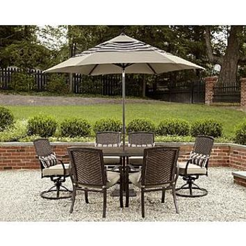 La-Z-Boy Outdoor McKenna 7pc Dining Set* - Outdoor Living - Patio Furniture - Dining Sets