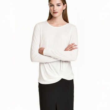 H&M Long-sleeved Jersey Top $24.99