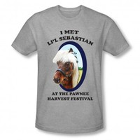 PARKS AND RECREATION LI'L SEBASTIAN T-SHIRT