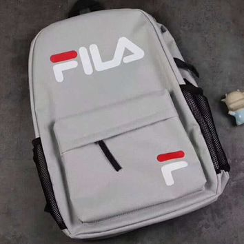 FILA College wind sports outdoor leisure bag computer bag travel bag Shoulder Backpack G-A-GHSY-1-1